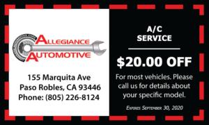 $20 Off A/C Services
